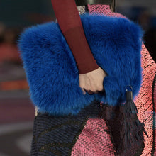 Faux Fur - Clutch Bag - It's A Bags World - Fun Quirky Eccentric Bag