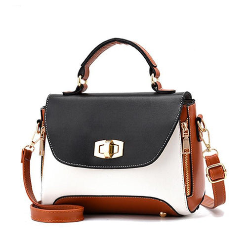 Faux Leather - Crossbody Bag - It's A Bags World