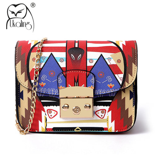 Faux Leather - Cartoon Bag - It's A Bags World
