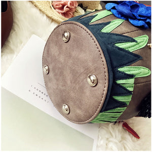 Faux Leather - Mushroom Bag - It's A Bags World - Fun Quirky Eccentric Bag