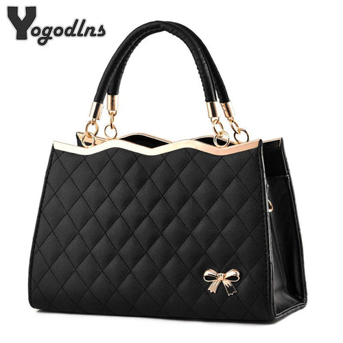 Faux Leather - Quilted Bag - It's A Bags World - Fun Quirky Eccentric Bag