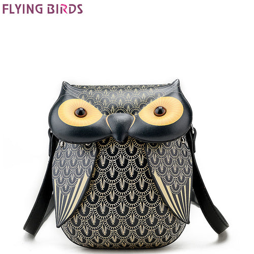 Faux Leather - Owl Bag - It's A Bags World - Fun Quirky Eccentric Bag