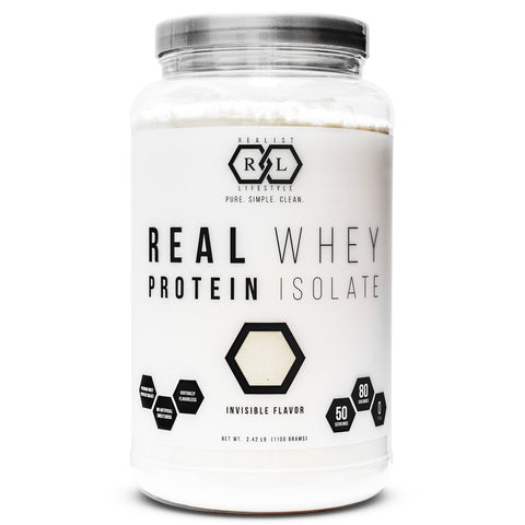 Real Whey Protein Isolate Invisible Flavor