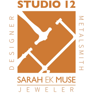 Sarah EK Muse at Studio 12 - Jeweler, Designer, Metalsmith Logo