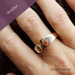 Studio 12 Design Blog-Of Life and Creativity-Sarah Ek Muse- Jeweler- Designer-Metalsmith-Malaya Garnet 14K Gold Ring-Warm Gold