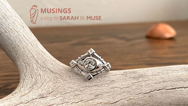 Musings a blog by Sarah EK Muse I Is Jewelry Art? l Bespoke Jewelry l Roanoke, VA