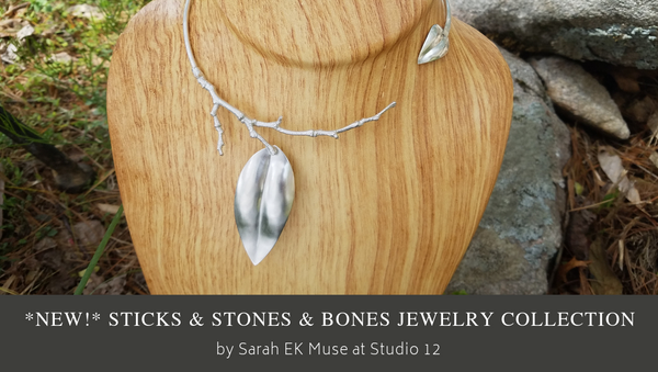 Stickes & Stones & Bones Jewelry Collection | Sarah EK Muse at Studio 12