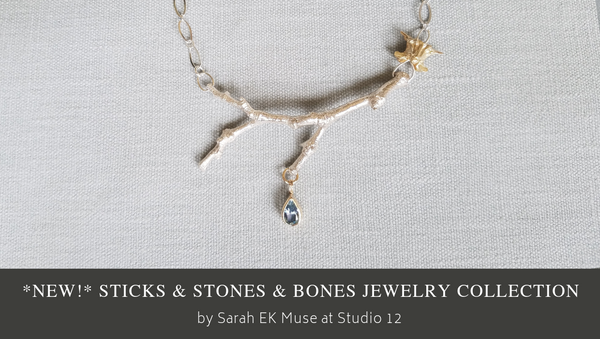 Sticks and Stones and Bones Collection by Sarah EK Muse at Studio 12