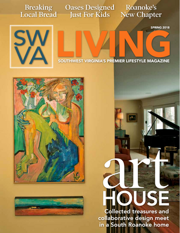"SWVA Living Magazine article, ""Her Own Muse"""
