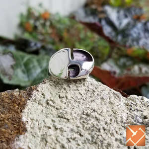 "Sterling Silver ""Beetle"" Ring"
