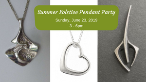 Summer Solstice Pendant Making Party