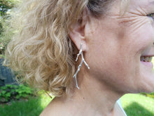 Sterling Silver 'Stick' Earrings