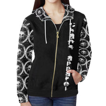 Chaos Apparel Zip Up All Over Print Hoodie (Women's)