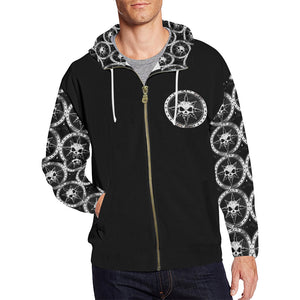 Chaos Apparel 660 Zip Up Hoodie All Over Print Hoodie Mens
