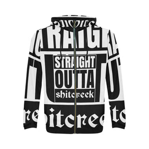 (SOSC)Shitcreek All Over Print Full Zip Hoodie for Men
