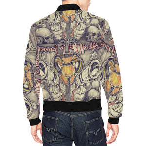 LIMITED EDITION: ETERNAL OF KILLA BEEZ: (STICK'EM UP MF) All Over Print Jacket for Men