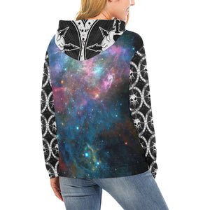 Chaos Galaxy ~  All Over Print Hoodie (for Women)