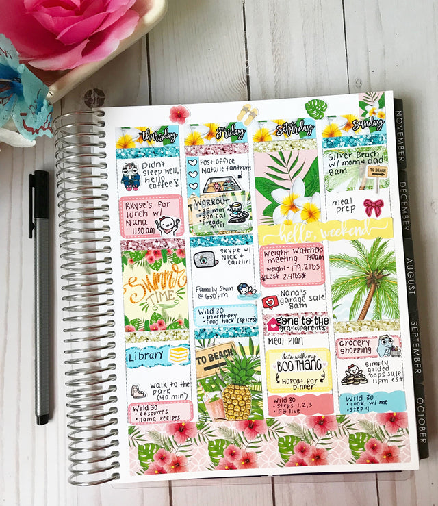 How to Use Your Planner to Get Healthy