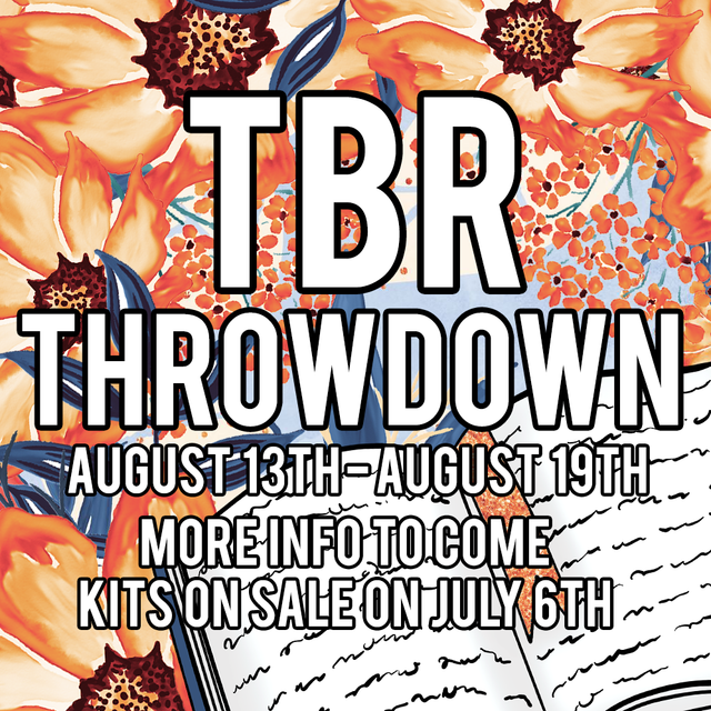 TBR Throwdown: August 13th-August 19th