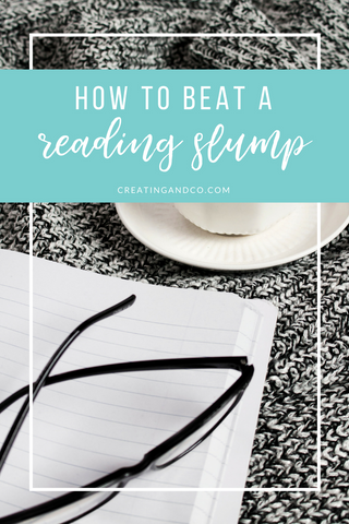 I have been a book junkie since I learned how to read and I am always looking for the next good book. But in April, after reading ten books, I fell right into a slump. Now I'm sharing my strategies for getting yourself out of a reading slump.