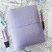 Purple Faux Leather Cover for Build Your Own Book Journal
