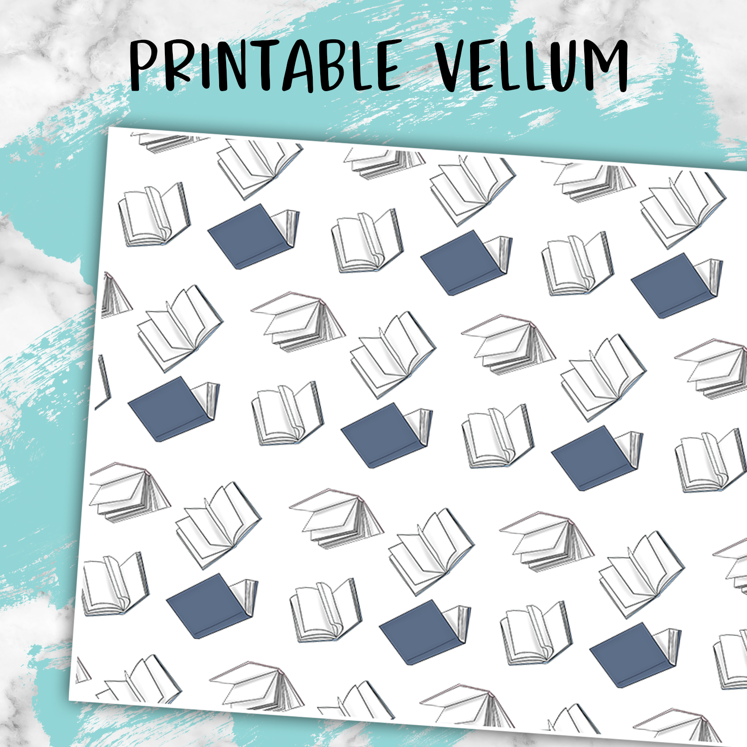 image relating to Printable Vellum identified as Floating Guides Blue/Red Printable Electronic Paper