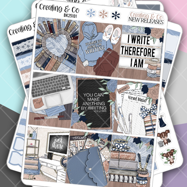 Writer Weekly Planner Kit  - BK251