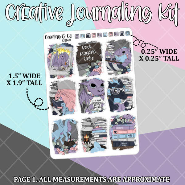 Book Dragon Creative Journaling and Planning Kit - CJ294