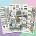 Farmhouse Library  HORIZONTAL Weekly Planner Kit  - HK279