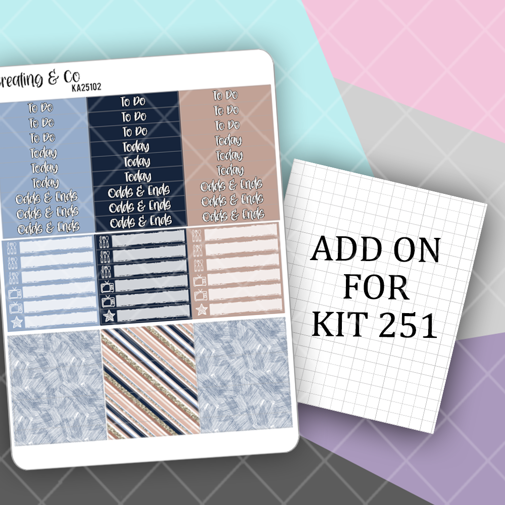 Writer Header, Icon Label, and Washi Strips Add On- KA25102