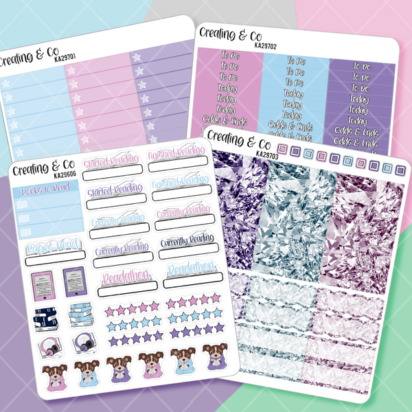 Fantasy Worlds Planner Kit Add Ons  - KA297