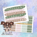 Home Sweet Home Printable Weekly Planner Stickers