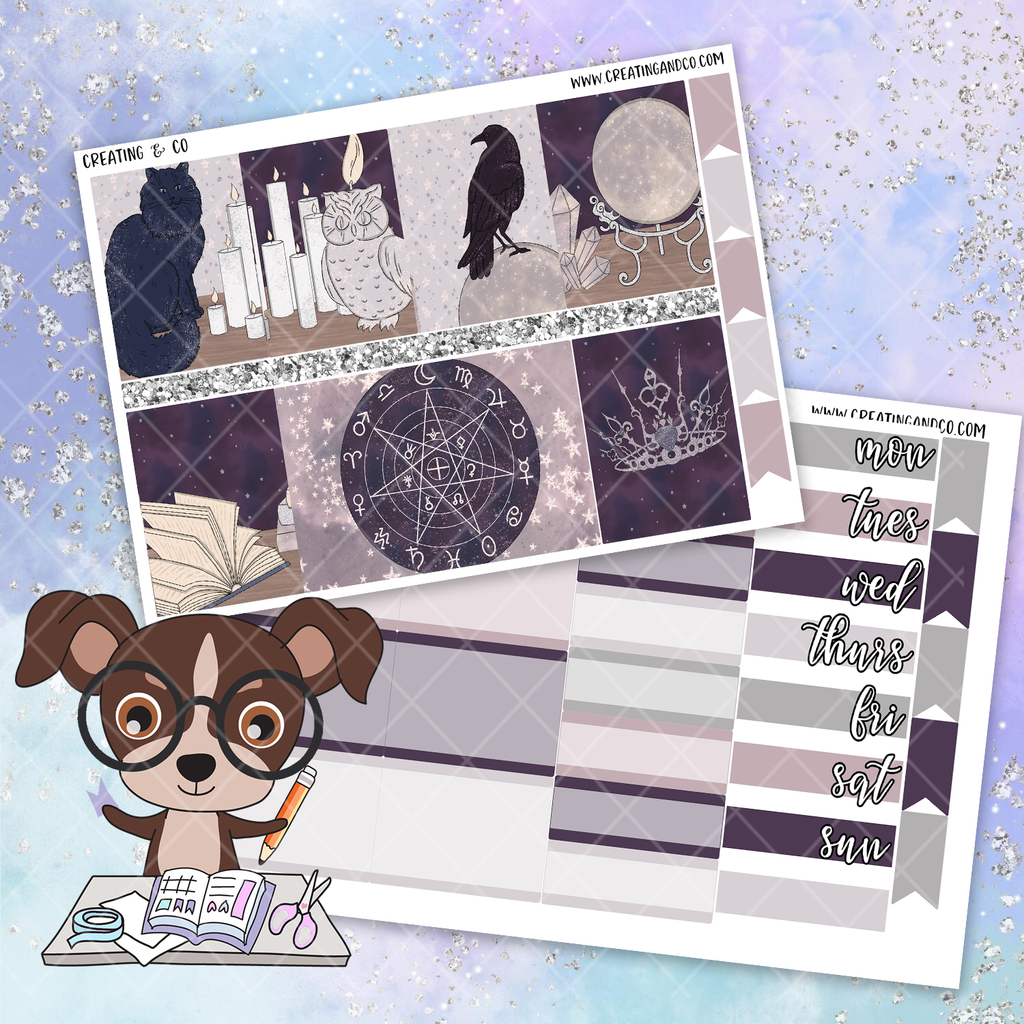 Magic Printable Weekly Planner Stickers