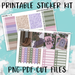 Woodland Witch Printable Weekly Planner Stickers - PK6