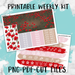 Poppy Printable Weekly Planner Stickers