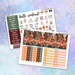 Pumpkin Spice Printable Weekly Planner Stickers