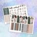 White Christmas Printable Weekly Planner Stickers