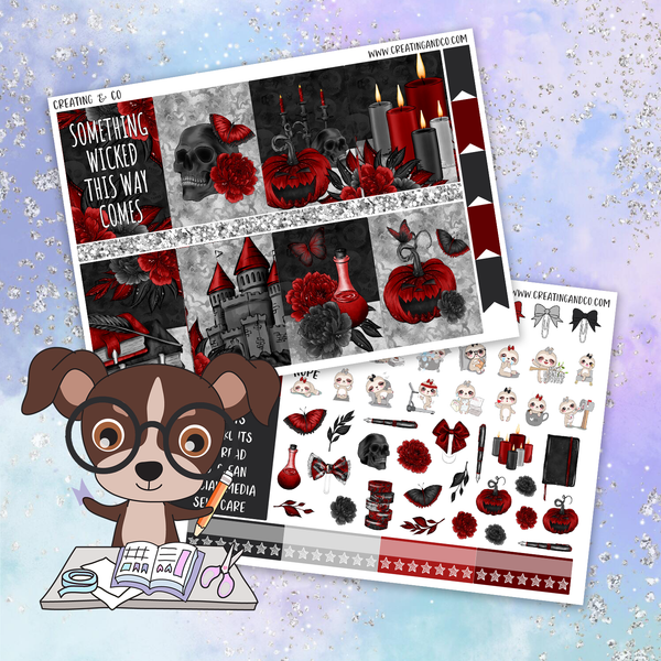 Wicked Printable Weekly Planner Stickers