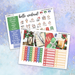 Magical Christmas Printable Weekly Planner Stickers