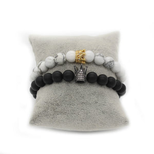 Moonlight King & Queen - Distance Bracelet