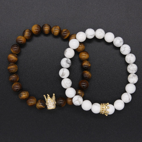 Tiger King & Queen - Distance Bracelet