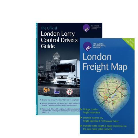 BFCM Bundled - London Freight Driver Map (Route Planning & Folded for ease of use) - now with FREE postage