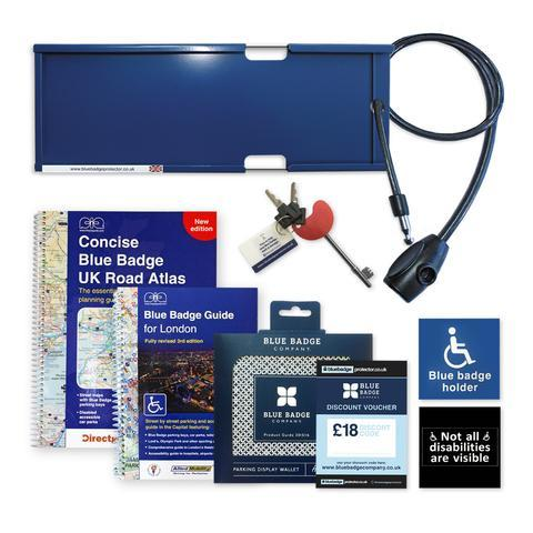 Blue Badge Traveller Pack
