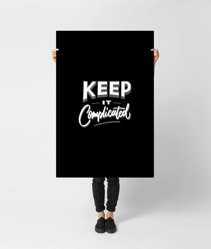 Keep it complicated - Unspiration
