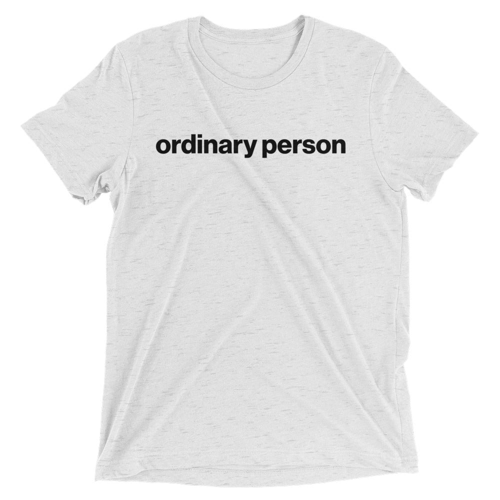 Ordinary person - Unspiration