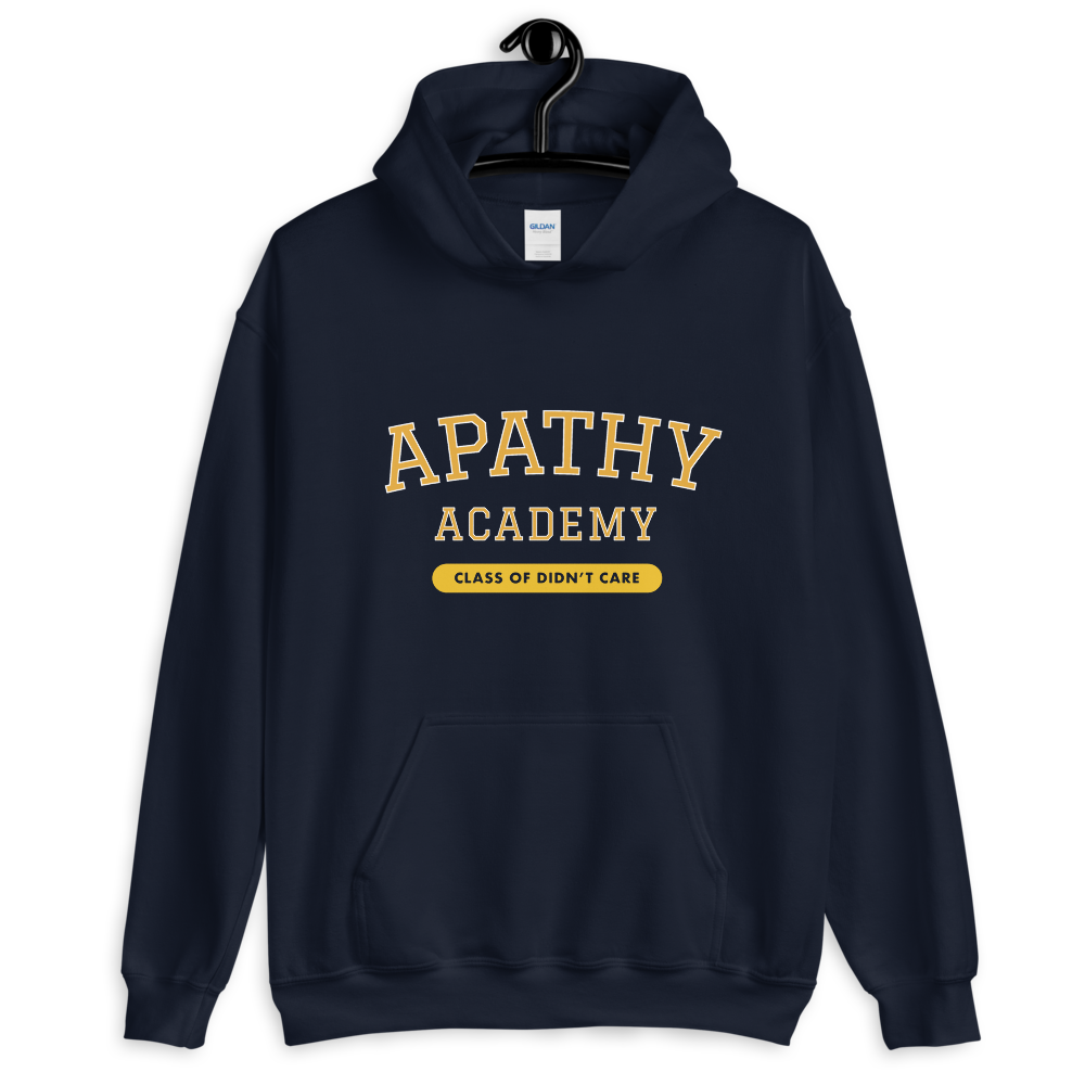 Apathy Academy. Class of Didn't Care