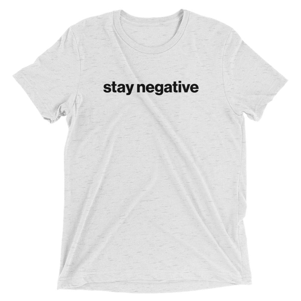 Stay negative - Unspiration
