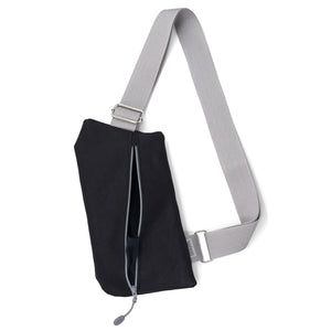 * BESTSELLER! The Griffey Crossbody Travel Bag in Black & Grey