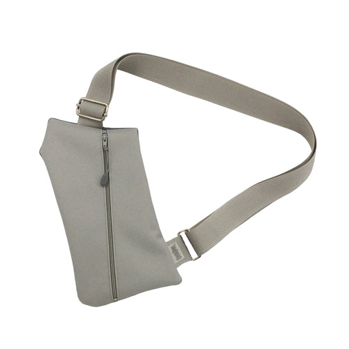 NEW COLOR! The Griffey Crossbody Travel Bag in All Grey