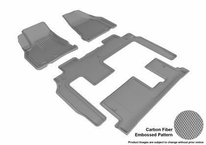 3D MAXpider L1BC02201501 BUICK ENCLAVE 2008-2017 KAGU GRAY R1 R2 R3 BENCH SEAT